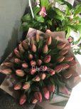 Tulipán csokrok