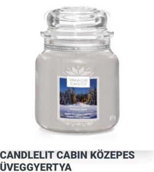 Közepes Candlelit cabin