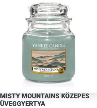 Közepes Misty mountains