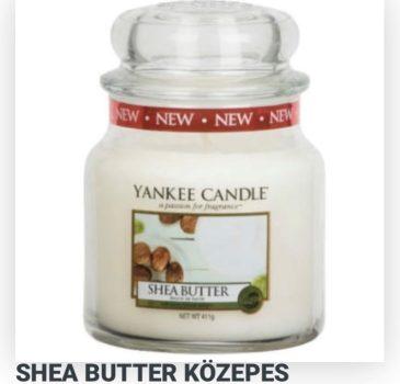 Közepes Shea butter