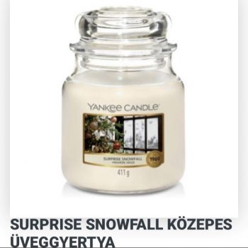 Közepes surprise snowfall