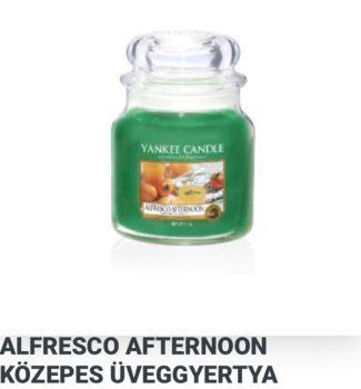 Közepes Alfresco afternoon