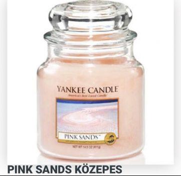 Közepes pink sands