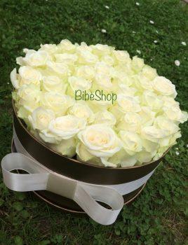 rózsabox fehér