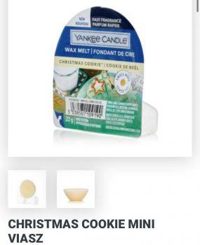 Christmas cookies wax