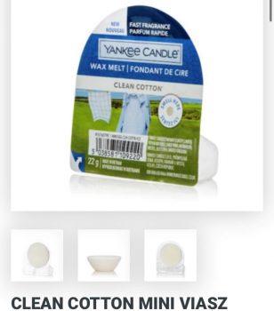 Cleaan cotton wax